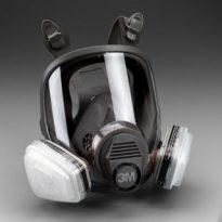 Full Facepiece Respirator Packout 07163, Organic Vapor/P95, Large
