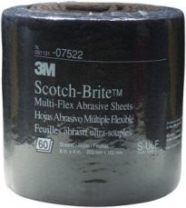 Gray Scotchbrite Roll
