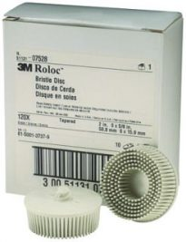 2″ Roloc Bristle Disc White 10/box