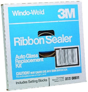 5/16″ RIBBON SEALER 15′ ROUND BEAD