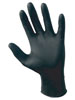 Raven Blk Nitrile Glove Lrg.