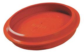 Orange Cup Lids 3/box