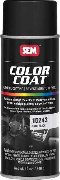 Color Coat Satin Black