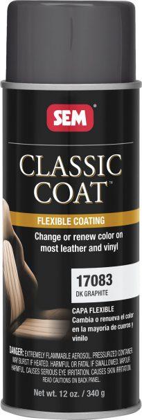 Classic Coat Dark Graphite