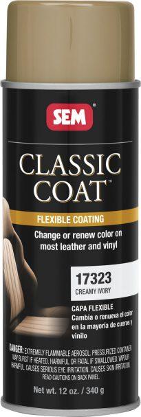 Creamy Ivory Classic Coat