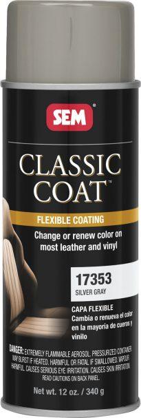 Classic Coat Silver Gray