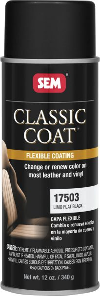 Classic Coat Limo Flat Black