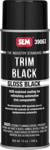 Gloss Trim Black Aerosol