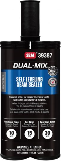 Self Leveling Seam Sealer Dark Charcoal Gray
