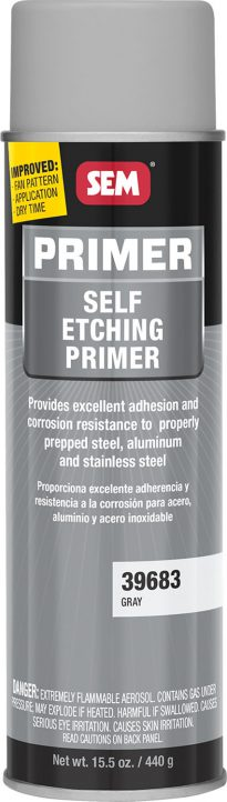 Gray Self Etch Primer