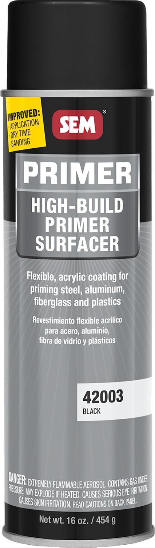 Black High Build Primer