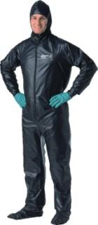 Shoot Suit Black Hooded Suit Medium