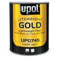 Flyweight Gold Premium Grade Lightweight Body Filler, 3 Liter