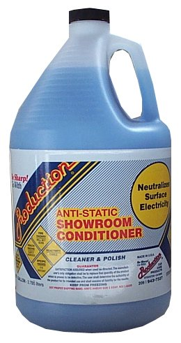 Production Car Care Anti-Static Showroom Conditioner – 1 Gal.